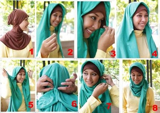 Как из шарфа сделать паранджу - HairyTale